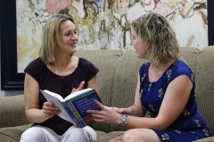 Associate Professor of Psychology  Julie Kingery  talks about her new book with colleague Emily Fisher, Assistant Professor of Psychology.