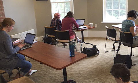 Hi Mary,Yesterday I hosted the first ever Pop-Up Writing Day for faculty and here are a few photos. Not sure if you need any photos during these slower months. Sorry I didn't take more. There were 12 faculty participating throughout the day. Best, Susab
