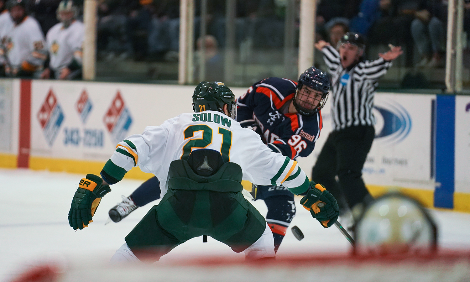 Hobart College at Oswego State Hockey2019 NCAA Quarterfinal Game
