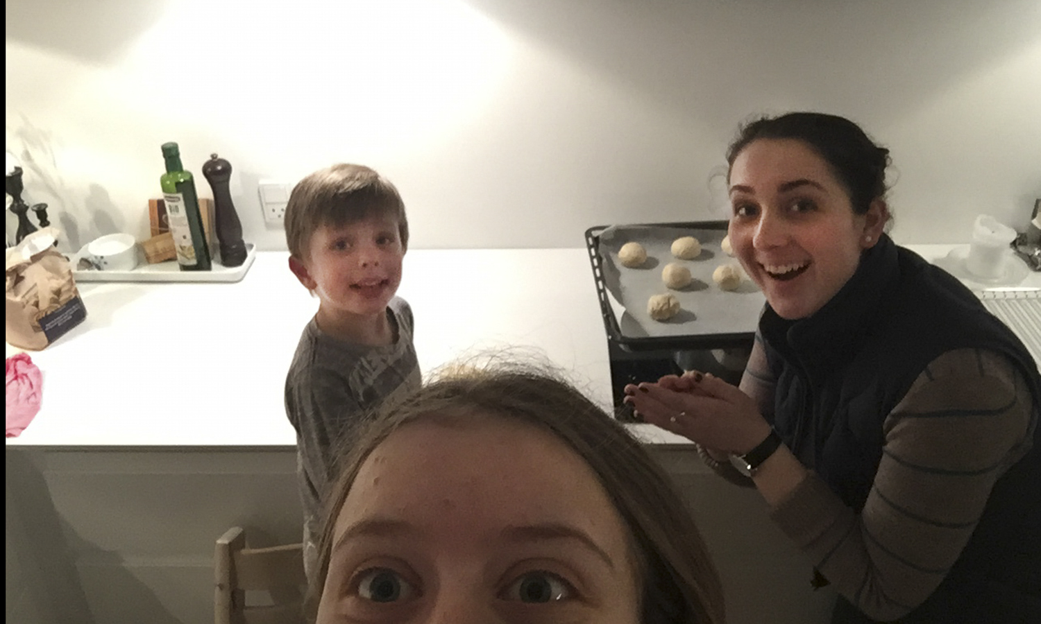 After studying abroad in Copenhagen in fall 2016, Elise Wyatt '18 returns to visit her my host family over spring break.