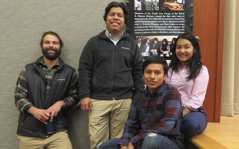 "From: Polanco Wattles, Darline Sent: Tuesday, November 17, 2015 4:04 PMTo: LeClair, MaryCc: Molina, AlejandraSubject: RE: Photos for TWIP? Hi Mary—one thing I forgot to mention—picture 383 the students went to the Rural Migrant Ministries Harvest Dinner and Symposium in Rochester, NY.Darline Darline Polanco Wattles '09Assistant Director, Office of Intercultural AffairsHobart and William Smith Colleges(315)781-3851polanco@hws.edu ""If you are going to do something, put your all into it."" From: Polanco Wattles, Darline Sent: Tuesday, November 17, 2015 4:02 PMTo: LeClair, MaryCc: Molina, AlejandraSubject: Photos for TWIP? Hi Mary, Here are some photos for TWIP if you'll have them! Pic 2299: German Abendbrodt program with the German club.Pic: 065: Chaplain Maurice Charles, Associate Provost Virginia Mansfield-Richardson and Joshua Kreeger-Smith '16 part of the LGBTQ&Allies working group looking at possible models for an LGBTQ Resource center at HWS.Pic 383: Marisela Palafox '18, Fernando Flores '17 and Edisson Cabrera '18Pic 130: Foreign Exchange students on their way to Destiny Mall (Laura Helberg, Anna Kantrup, Katharina Herrman, Hiba Amro, Yvonne Brieger, Yoshua Hutler, Luise Staadt, Sabrina Bruger, Tameera McCardyPic 090: Hiba Amro (Arabic FLTA) at Eastview Mall Darline Darline Polanco Wattles '09Assistant Director, Office of Intercultural AffairsHobart and William Smith Colleges(315)781-3851polanco@hws.edu ""If you are going to do something, put your all into it."""
