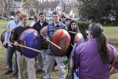 FSEM will be performing a 'hoplite experiment', i.e., testing the various theories about how a hoplite phalanx may actually have worked.Leah Himmelhoch, Ph.D.Associate Professor and ChairDepartment of the Classics