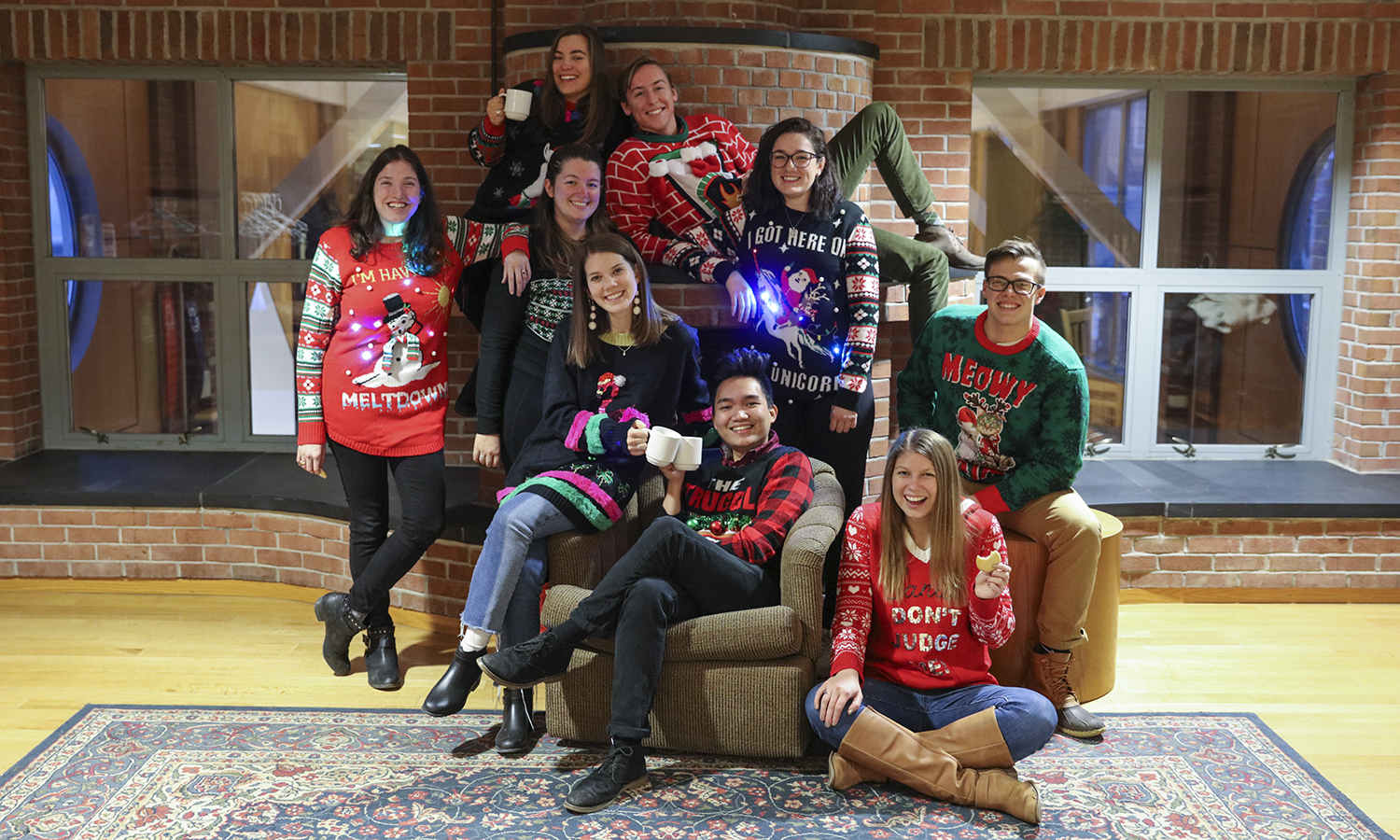Stewardson Society Ugly Sweater