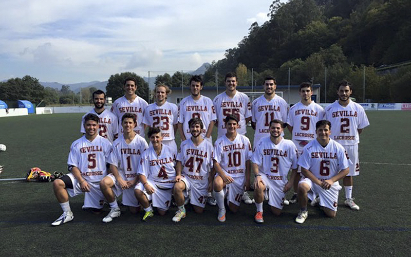 Hello Greg,I played in the Spanish Lacrosse Cup with the Sevilla Lacrosse Team this past weekend in Asturias, Spain. Here is the photo of the team if you would like to put it on TWIP. We won the championship too!Best,Grant Soucy '17