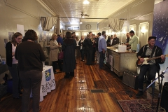 A networking mixer was held in Downtown Geneva at SpaceVinyl for local businesses to come together.