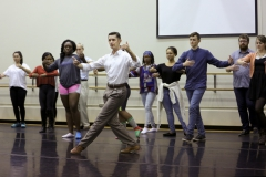 Dance Department, together with the campus Latin American Organization, the Office of Intercultural Affairs and Geneva Tango, are sponsored a master class and workshop with professional Argentine Tango dancer and instructor Richard Council.Argentine Tango.