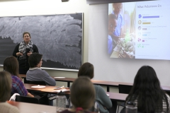 HWS Alumni give a presentation on their time in the peace corps and encourage students to get involve through describing what the Peace Corps stands for and how the process of being involved works.