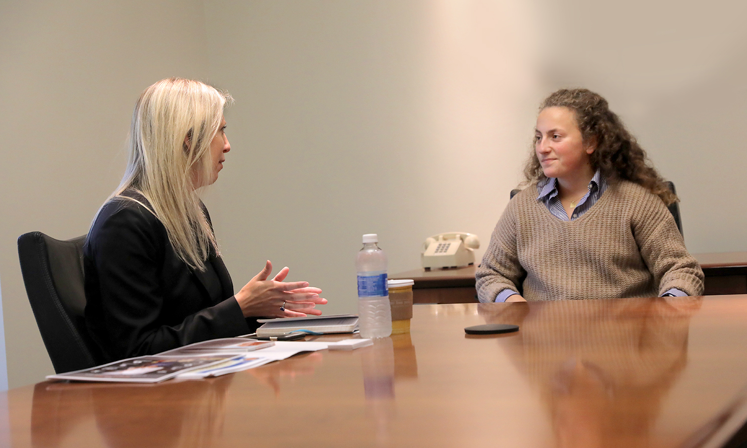 Professional in Residence Rachel Henderson talks to Carly Fischer