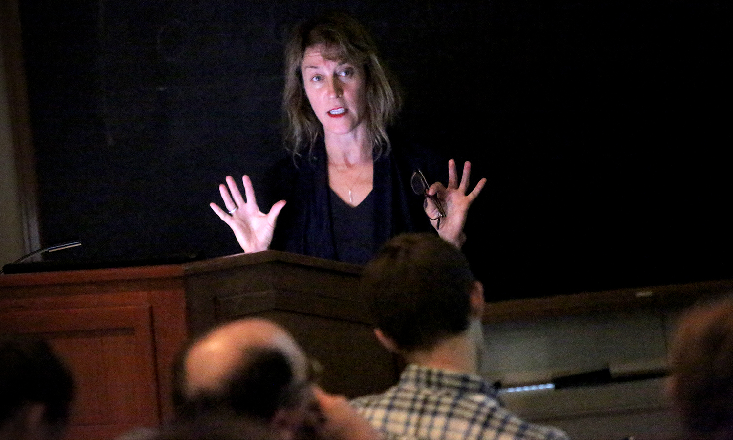 "Jennifer Siegal '87 returns to campus to give a talk titled ""Nomos vs. Polis: Strategies for Mobile Architecture"" through the Art & Architecture lecture series."