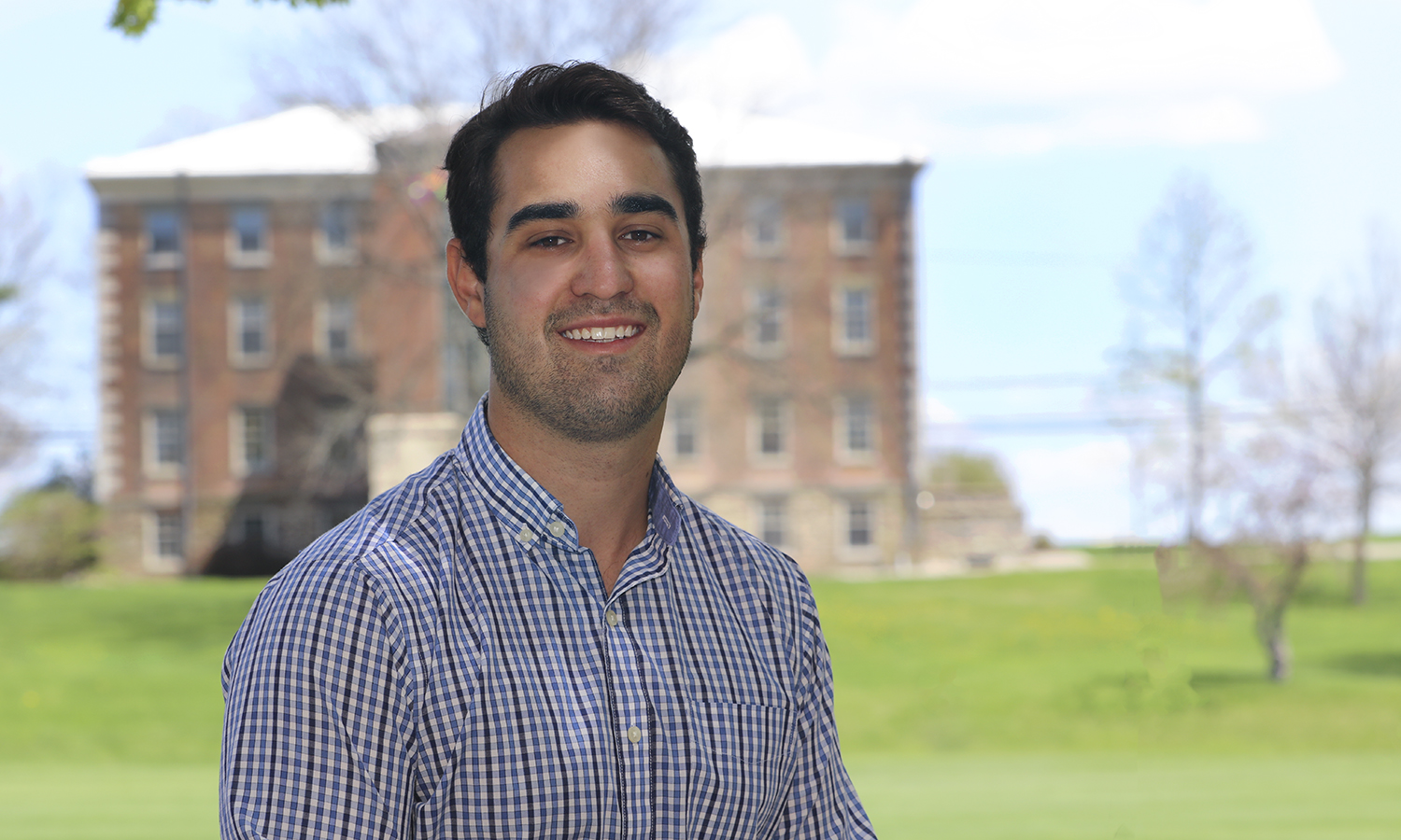 Through the Guarenteed Summer Internship program, John Mainella '19 will travel to Tel Aviv, Israel to intern as an athletic trainer with World Lacrosse Athletics.
