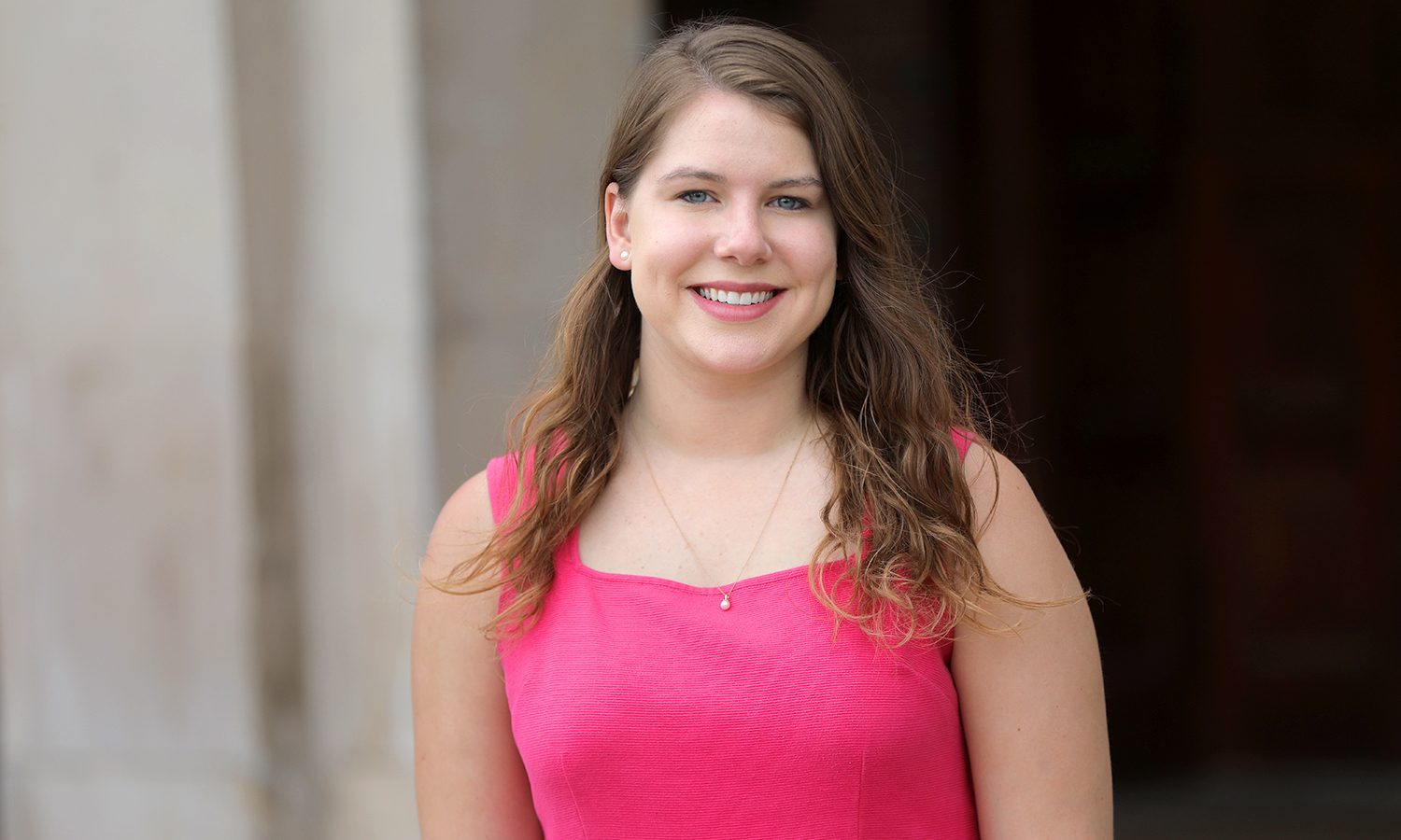 The 2018 William Smith Commencement Class Speaker, Quinn Cullum '18 will head to N.Y.C. this summer to begin her career in financial services at IHS Markit as an associate finance analysist.