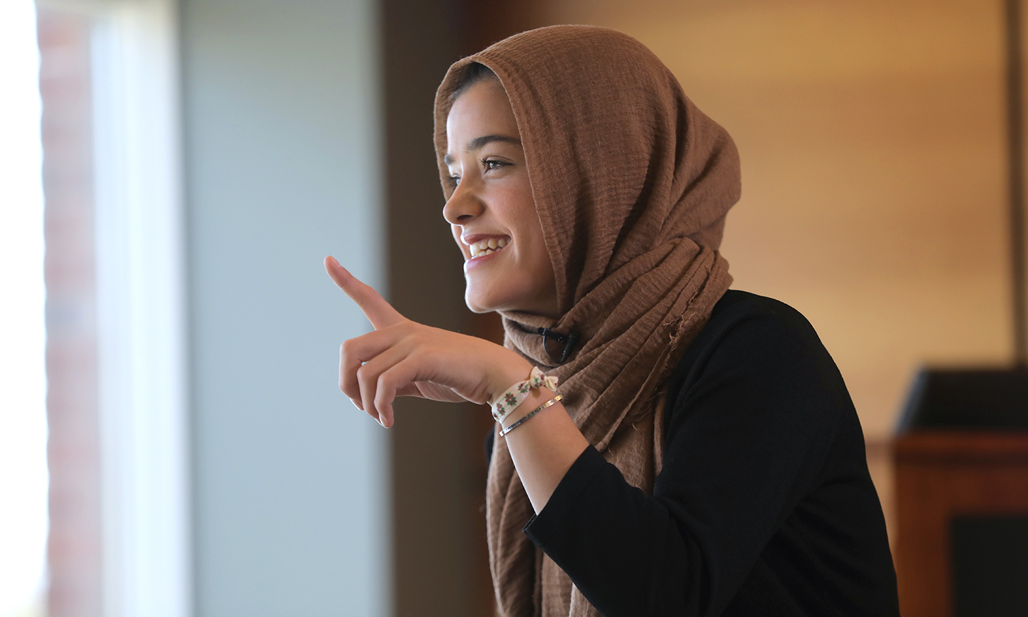 In April, Zahra Arabzada '19 was interviewed by Health Magazine for its #RealLifeStrong campaign. The piece focuses on Zahra's experience running in an ultramarathon and her advocacy work for women in Afghanistan. The article will run on Health.com this summer.