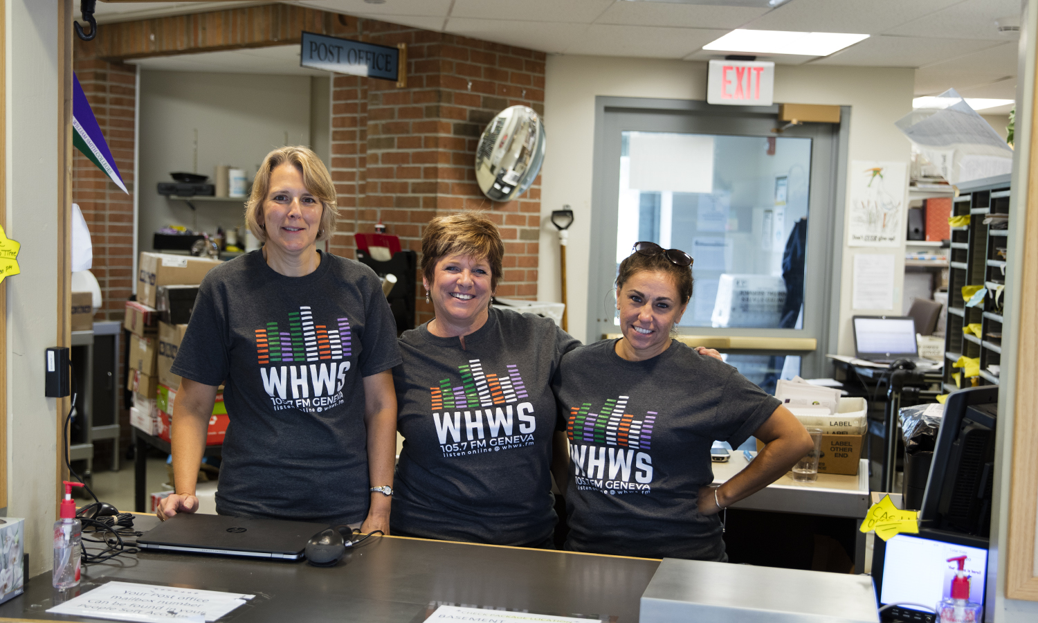 Postoffice staff with WHWS Shirts-0014
