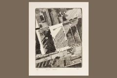 âAerial Geneva intaglio print by Grace Stribling-Hough â20. This piece was created during HWSâs ARTS 246 Intaglio Printing course taught this spring.â