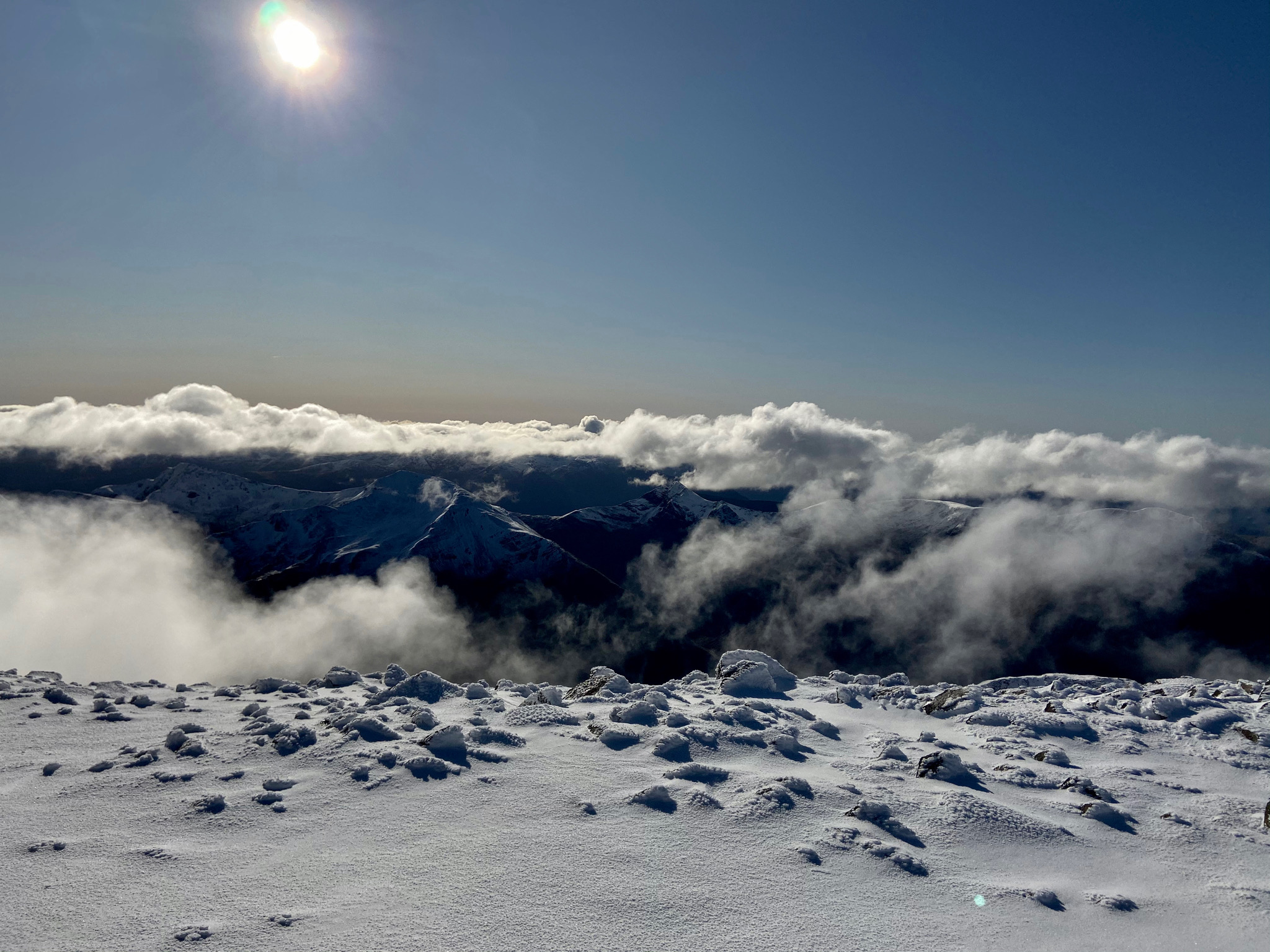 Landscape. 2nd place. Peggy Wagner (AGAIN) 33.Scotland_Summit of Ben Nevis_snowy hike on the tallest mountain in Scotland