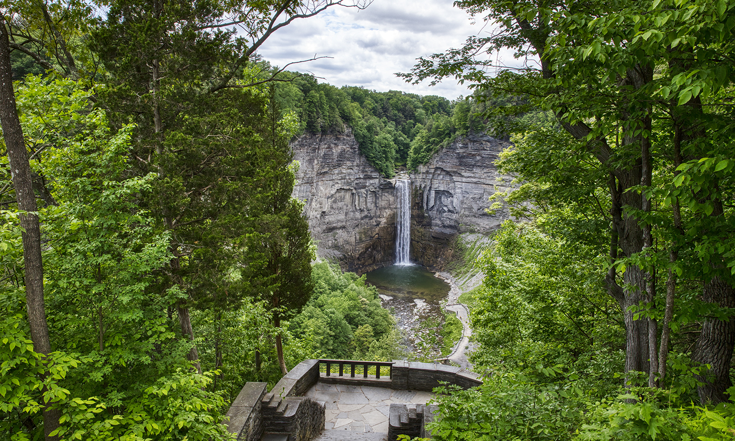 This week, we showcase the captivating beauty of summer in the Finger Lakes through a selection of works by HWS Chief Photographer Kevin Colton. Here, Colton captures a view from Taughannock Falls State Park in Trumansburg, N.Y.