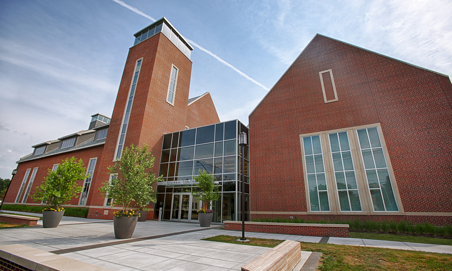 The new Gearan Center for the Performing Arts was unveiled in January 2016, and now hosts a theatre, dance studios, and classroom spaces for the HWS community to use. It was named after current president of the colleges Mark Gearan, who helped raise capital to complete the project.