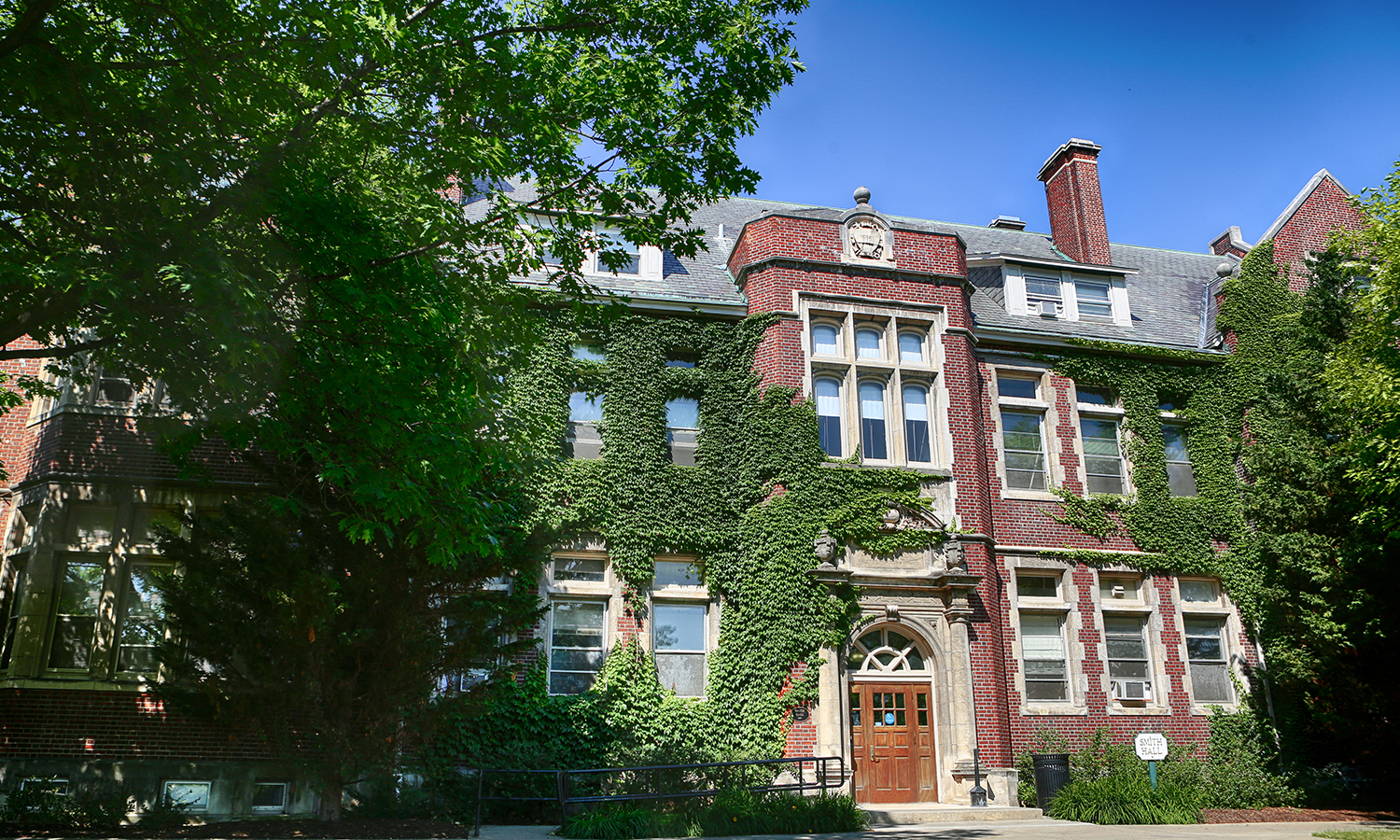 Williams Hall was built in 1909 by architect Arthur Nash, and named after drowning victim Charles Rose Williams. Originally built as a gymnasium complete with a pool, and later renovated to hold classrooms, Williams Hall now holds the Offices of the Deans, the Writing and Rhetoric department, and a Language lab.