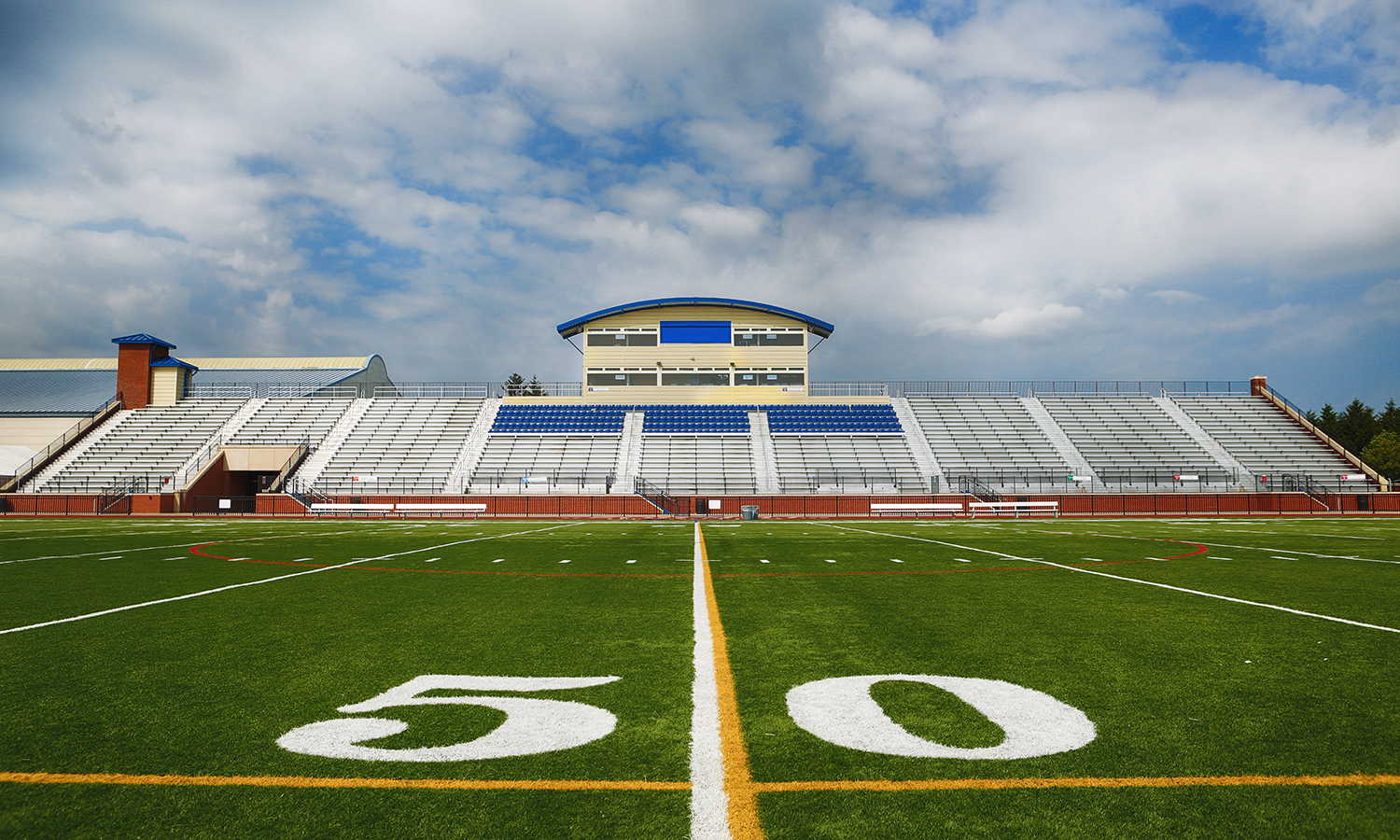 "Boswell Field, adjacent to the Caird Center for Athletics and its facilities (including the Bristol Field House), was built in this location in 1972 and renovated in 2010 with FieldTurf and a new lighting system. During the school year, ""The Boz"" hosts home games and playoff games in football, lacrosse and soccer."