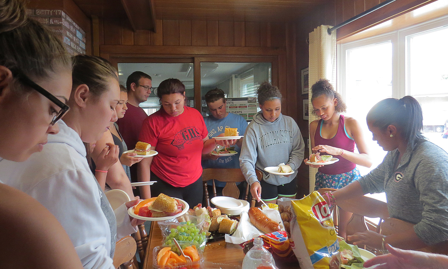 The Intercultural Affairs house hosts a number of events, both during the semester and in the summertime, dedicated to supporting students and to connecting them with cross-cultural opportunities.