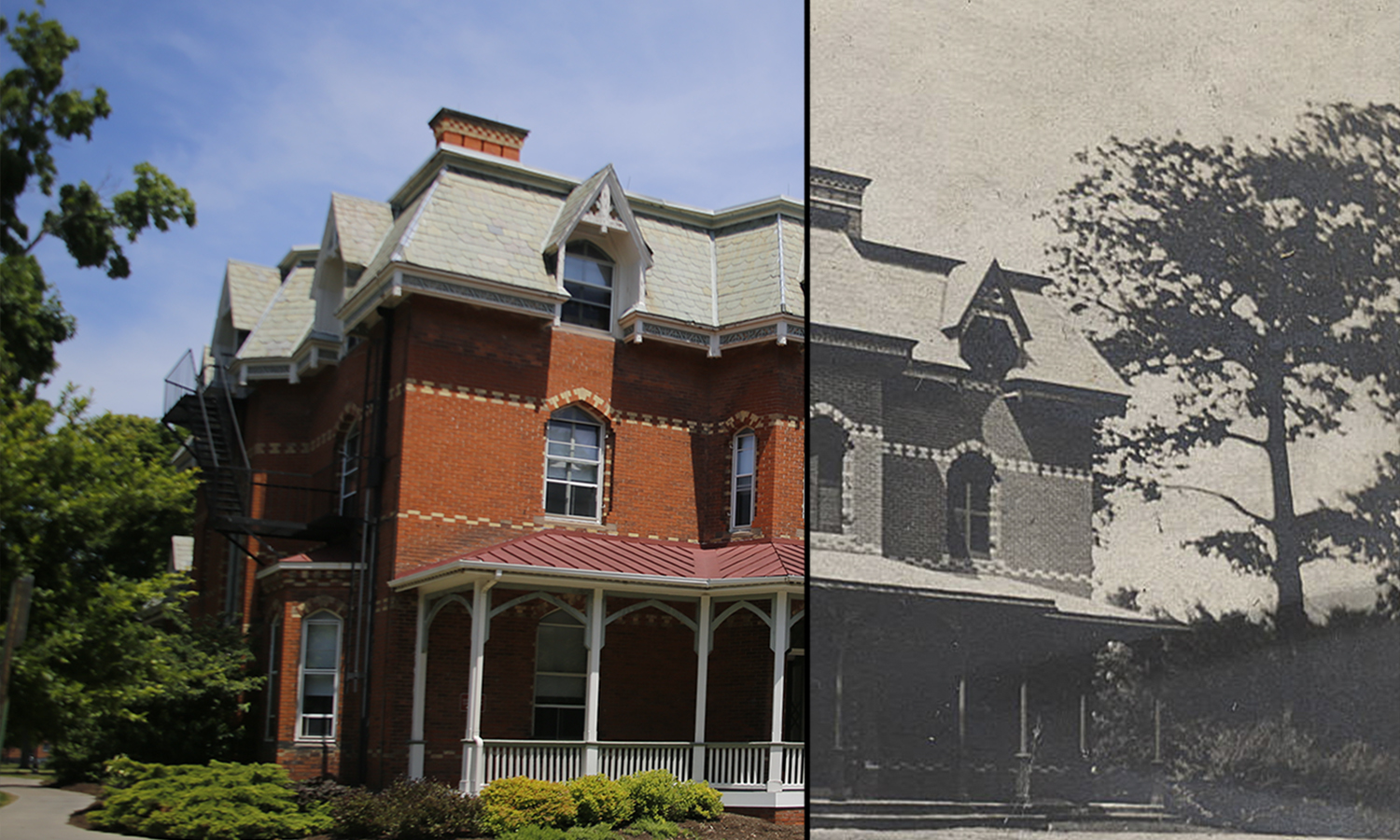 The first residence hall for William Smith Colleges, Blackwell House was constructed in 1863 and is still an all female residence hall to this day.