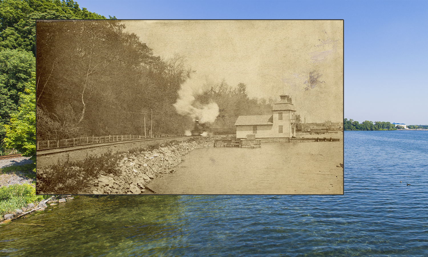 Boathouse Then and Now