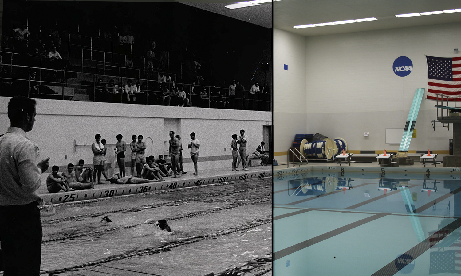 Constructed in 1965, Bristol Pool is now home to only the William Smith swim and dive team, with their coordinate team having been disbanded in the late 20th century.