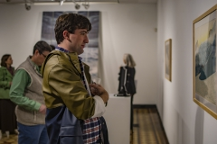 Worth of Water Davis Gallery Reception<BR> Photos by A. Farid '20