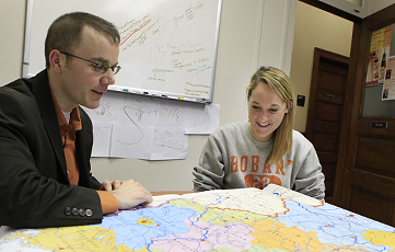 Emily Nugent '13, Eric Klaus, Blocker Fellow, Germany, German, Smith Hall