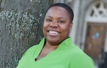 Stacey Pierce, Portrait, Director of Residential Education