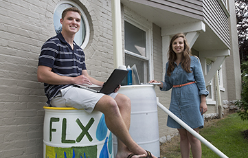 Sustainability Interns, Benoit Cameron, Mcloughlin Mary, Finger Lakes Institute