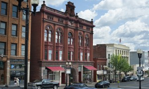 "A downtown Geneva landmark since 1894, the Smith Opera House is a must-see for anyone who appreciates fine architecture and theatre. Each year it hosts numerous events for HWS, including large-scale performances by ""Kosher,"" the HWS Dance Collective."
