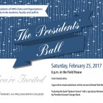 Presidents Ball Invitation