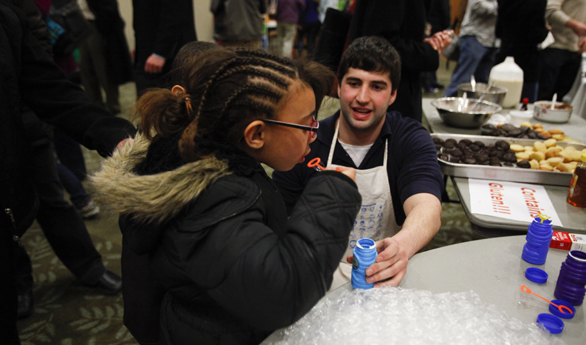 """Showcasing the chemistry that plays out in our kitchens every day, the students from """"Bonding with Food,"""" an advanced chemistry course, will host an Edible Science Fair on Tuesday, March 6. The event will begin at 6 p.m. in the Vandervort Room."""