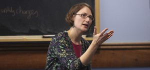 Assistant Professor of American Studies Beth Belanger