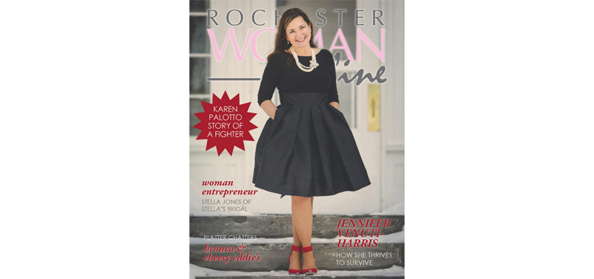 Rochester Woman Magazine Cover