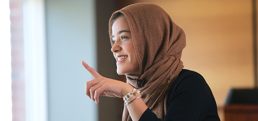 This summer, Zahra Arabzada '19 will be featured in Health Magazine about her experience running in an ultramarathon and her advocacy work for women in Afghanistan. She will also work as a research assistant for Dr. John Harmon, a surgeon at John Hopkins Bayview Medical Center in Maryland.