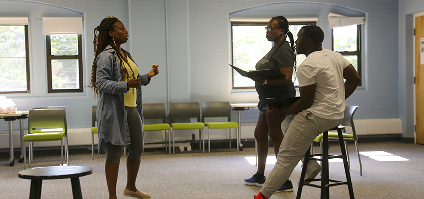Playwrights of Color Summit Rehearsal 207