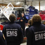 HWS EMS training at Mercy Flight to become ground crew certified