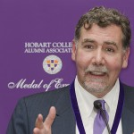 For his life-saving work advancing public health and human rights - particularly the prevention of HIV/AIDS, Dr. Christopher C. Beyrer '81 was bestowed the Hobart College Alumni Association's highest honor on Dec. 18 in Washington, D.C.