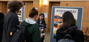 Daphna Bendull '21 discusses her semester of research conducted in Germany at the biannual Blocker Fellowship showcase.