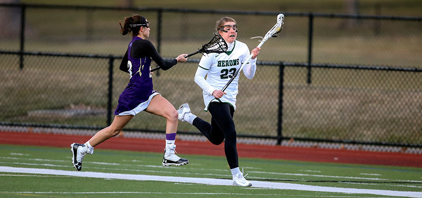 Hobart and William Smith Colleges - Heron Tabbed by Inside Lacrosse  All-American