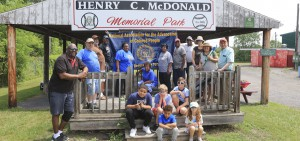 A Juneteenth service event was hosted at the Geneva Little League Field.